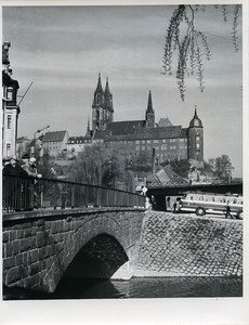 East Germany Meissen Castle Albrechtsburg & Cathedral Old Photo 1967
