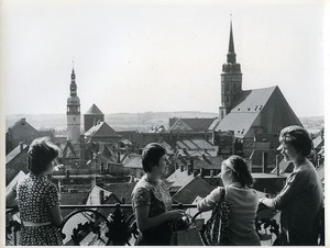 East Germany Dresden Bautzen panorama Old Photo 1966