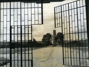 Germany National Memorial of Sachsenhausen Old Photo 1971
