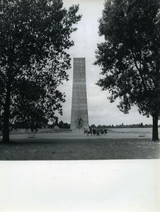 East Germany National Memorial of Sachsenhausen Camp Old Photo 1971