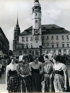 Germany Bautzen Festival of Sorbian Culture Old Photo 1972