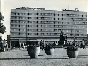 East Germany Schwerin the new Hotel Old Photo 1972