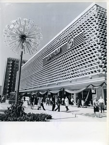East Germany Suhl Centrum Department Store Old Photo 1971