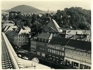 Germany Suhl Panorama Old Photo 1971