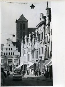 East Germany Wismar Krämerstraße Old Photo 1967