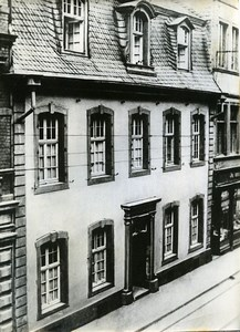 Germany Trier native House of Karl Marx Old Photo 1968