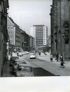 East Germany Chemnitz City Center Karl-Marx-Stadt Old Photo 1965
