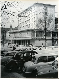 East Germany Chemnitz Bahnhofstrasse Karl-Marx-Stadt Old Photo 1968