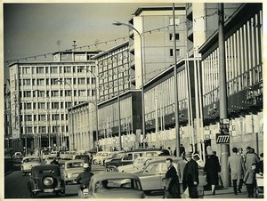 East Germany Chemnitz Strasse der Nationen Karl-Marx-Stadt Old Photo 1966