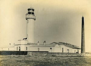 France Marquise Audinghen Phare du Cap Gris Nez Lighthouse Old Photo 1910