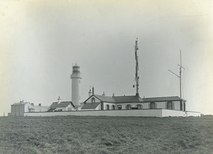 France Marquise Audinghen Semaphore & Lighthouse Cap Gris Nez Old Photo 1910