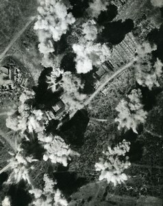 WWII RAF Liberator Burma Kangaung Airfield Bombing Old Photo 1943