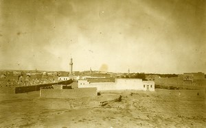 Syria French Military Mandate Deir ezZor Panorama Old Photo 1928