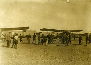 Syria French Mandate Deir ezZor Military Airfield British Aircraft Photo 1928
