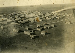 Syria Al-Hasakah French Militairy Mandate Aerial View Aviation Old Photo 1928