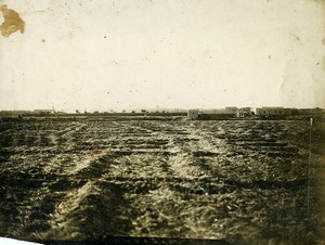 Syria Al-Hasakah French Militairy Mandate Sand Field Old Photo 1928