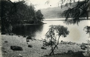 England Lake District Derwentwater Countryside Old Amateur Photo 1930