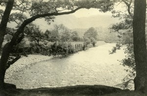 England Lake District Borrowdale Valley Countryside Old Amateur Photo 1930