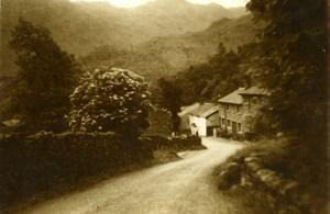 England Lake District Seatoller Hamlet Old Amateur Photo 1930