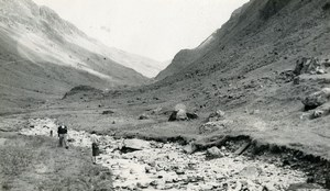 England Lake District Honister Pass Old Amateur Photo 1930