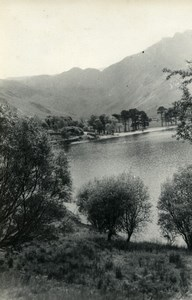 England Lake District Buttermere Lake Old Amateur Photo 1930