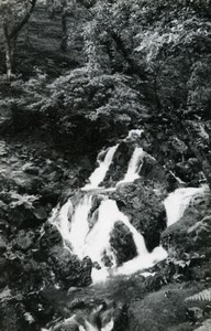 England Lake District Buttermere Waterfalls Old Amateur Photo 1930
