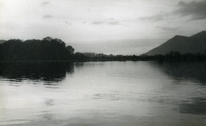 England Lake District Thirlmere Reservoir Old Amateur Photo 1930