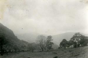 England Lake District Fairfield Old Amateur Photo 1930