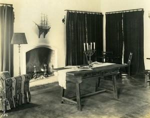 USA California Palos Verdes Peninsula Golf Club interior Old Photo 1920's