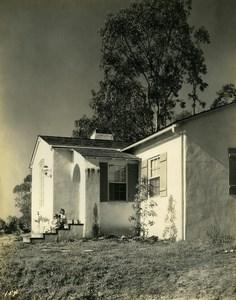 USA California Palos Verdes Peninsula House Children Old Photo 1920's