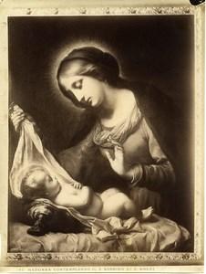 Italy Roma Dolci Madonna & Child Galleria Corsini Old Photo Anderson 1880