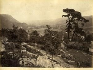 Wales Betws y Coed vale of Llanrwst Old Photo Bedford circa 1870