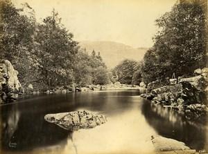 Pays de Galles Wales Riviere Fantome de Peintre Ancienne Photo Frith vers 1870