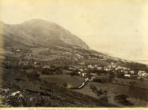 Wales Penmaenmawr from Foel Llys Old Photo Bedford circa 1870