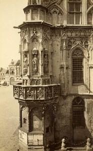 Netherlands Middelburg Stadhuis City Hall Old Photo circa 1868