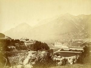 Austria Tyrol Innsbruck Panorama Old Photo Czichna circa 1868