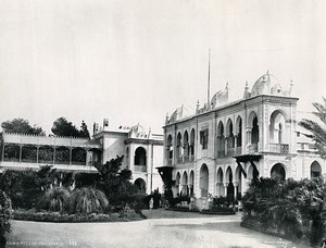 Algeria Algiers Governor's Summer Palace Old Photo Leroux 1900