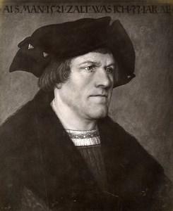 Austria Vienna Wien Museum Lucas Cranach Portrait Old Photo Lowy c1900