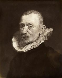Austria Vienna Wien Museum Rubens Old Man Portrait Photo Lowy c1900