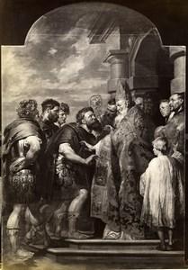 Austria Vienna Wien Museum Rubens Theodosius and Saint Ambrose Photo Lowy c1900