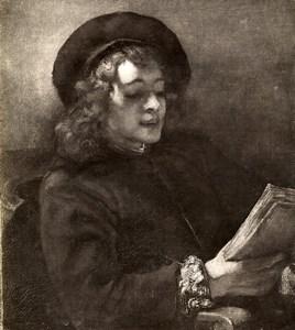 Austria Vienna Wien Museum Rembrandt Der Singende Jungling Old Photo Lowy c1900