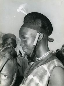 Africa Haute Volta Ouagadougou Mossi people Old Photo Sarr Cheick 1960