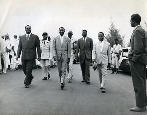 Africa Benin President Maga & Felix Houphouët-Boigny Old Photo 1960
