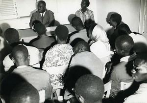 Africa Senegal Dakar Nursing School Class Old Photo 1960