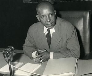 Africa Senegal Dakar Minister of Justice Gabriel d'Arboussier Old Photo 1960