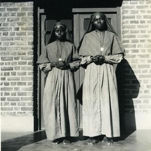 Africa Burundi Bujumbura Usumbara Saint Thérèse Nuns Old Photo Lebied 1946