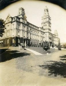 Canada Quebec City Provincial Parliament Buildings Architecture Old Photo 1930