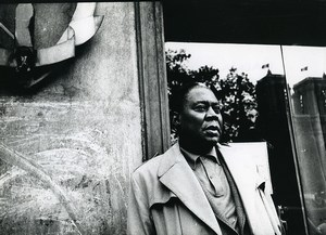 France Paris Memphis Slim Portrait Old Photo Christian Fauchard 1980