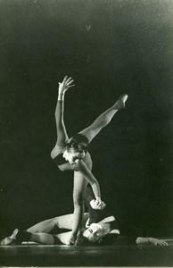 France Hiroshima Ballet Praha Marta Synackowa & Petr Kozeluh Old Photo 1964
