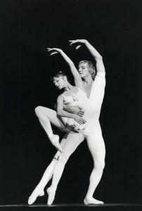Paris Valery Anisimov & Alla Mikhalchenko Bolshoi Ballet Old Photo Andanson 1979